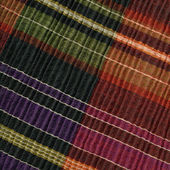 Traditional woolen weaving, detail — Stock Photo
