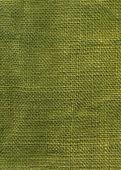 Green jute texture — Stock Photo