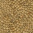 Straw wickerwork, detail — Stock Photo