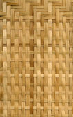 Wooden wickerwork — Stock Photo