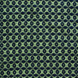 Green and blue ornament textile - Lizenzfreies Foto