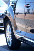 Car reflection — Foto de Stock