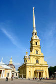 Saint Peter and Paul cathedral. Saint Petersburg — Stock Photo