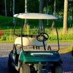Постер, плакат: Golf cart