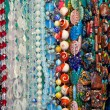 Colored beads showcase — Stock Photo #3365508