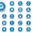 Royalty-Free Stock Imagem Vetorial: Internet buttons