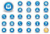 Internet buttons — Vetorial Stock