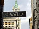 Wall street — Stok fotoğraf