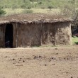 Royalty-Free Stock Photo: A mud hut in Kenya