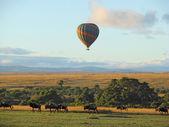Hot air balloon ride — Stock Photo