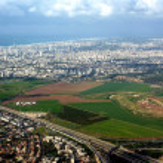 Постер, плакат: Tel Aviv Aerial Photo 1