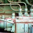 Motor of a Tractor - Stock Photo