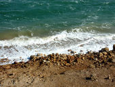 Dead Sea-Spume — Stock Photo