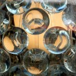 Foto Stock: Glass balls