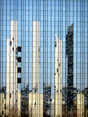 Reflection in the Axel-Springer-Building — Stock Photo
