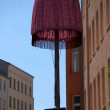 Lampshade and one-way street — Stock Photo
