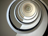 Berlin-spiral staircase-3 — Stock Photo