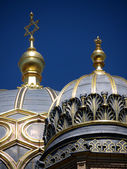 Berlin-Synagogue-two domes — Stock Photo