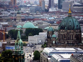 Berlin-churches-eye view — Stock Photo