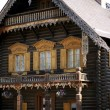Alexandrowka-log cabin — Stock Photo #3552086