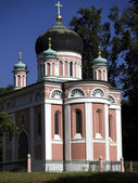 Alexandrowka-Church — Stock Photo