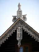 Alexandrowka-pediment — Stock Photo