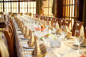 Banqueting hall — Stock Photo