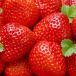 Stock Photo: Starwberry closeup