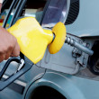 Petrol filling - Stock Photo