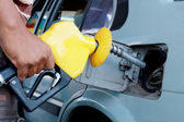 Petrol filling — Stock Photo