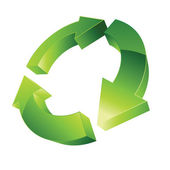 Recycle rotation — Stock Photo