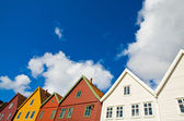Colourful houses — Stock Photo