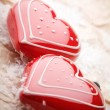 Heart shape decorations — Stock Photo