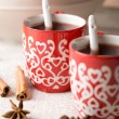 Hot Christmas drink — Stock Photo #3155108