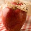 Royalty-Free Stock Photo: Red Christmas Apple