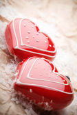 Heart shape decorations — Photo