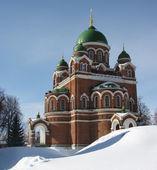 Spaso-Borodinsky monastery — Stock Photo