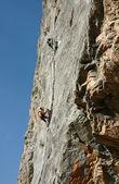 The climb — Stock Photo