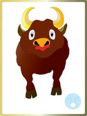 Bull — Stock Vector
