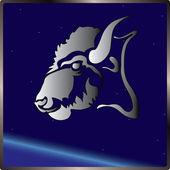Bull sign zodiac — Stock Vector