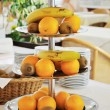 Stock Photo: Fruit bowls