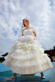 Bride dress — Stock Photo
