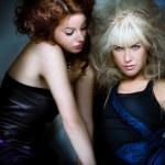 módní dívky — Stock fotografie