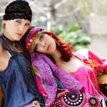 Meninas moda — Foto Stock