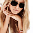 Stock Photo: Sunglasses portrait