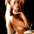 Sensual blond — Stock Photo