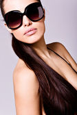 Sunglasses portrait — Photo