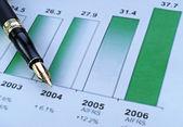 Sales growth — Stock Photo