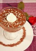 Chocolate mousse 2 — Stock Photo