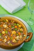 Minestrone soup 1 — Stock Photo